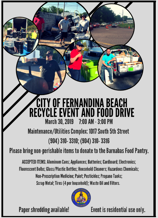 Fernandina Beach Hazardous Waste and Recycle Event - Keep